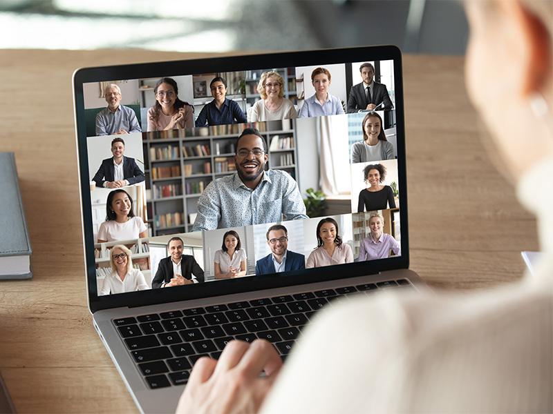 Mitarbeiter innen Führung mit caterva online